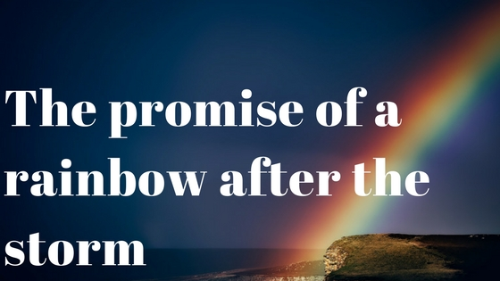 The Promise Of A Rainbow After The Storm As The Heart Heals
